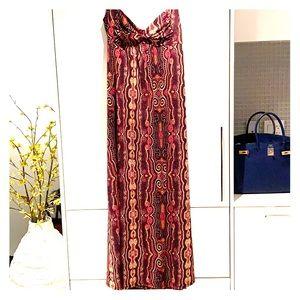 Dresses & Skirts - Halter style multi colour dress